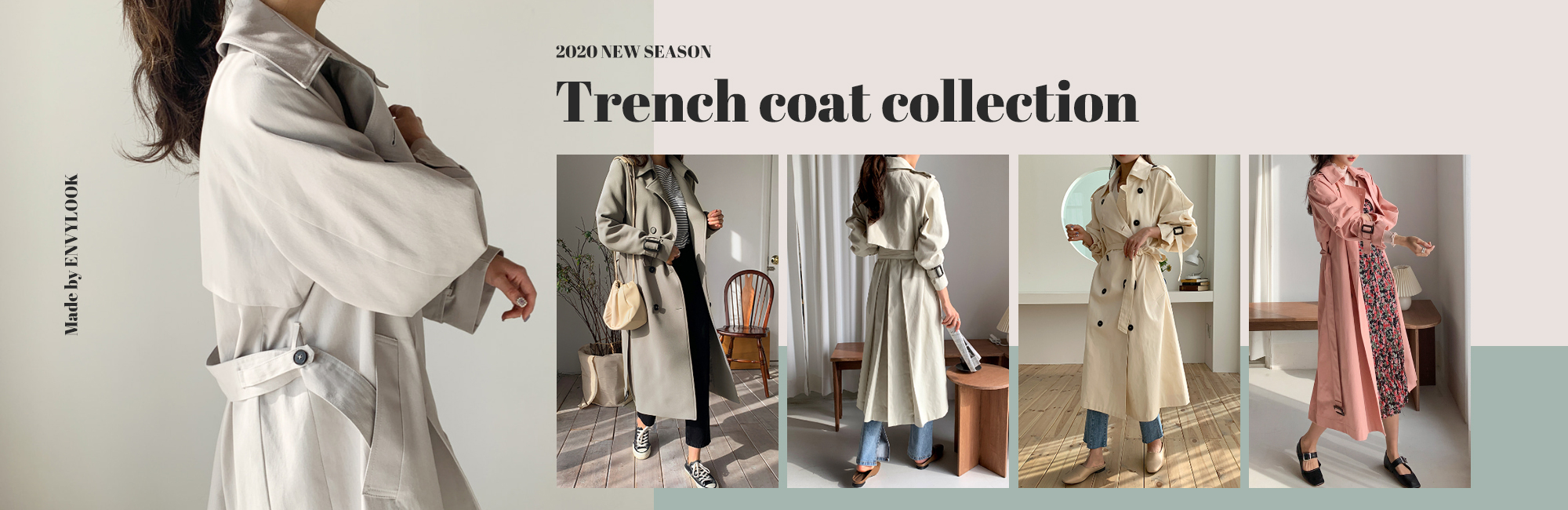 trench coat collection
