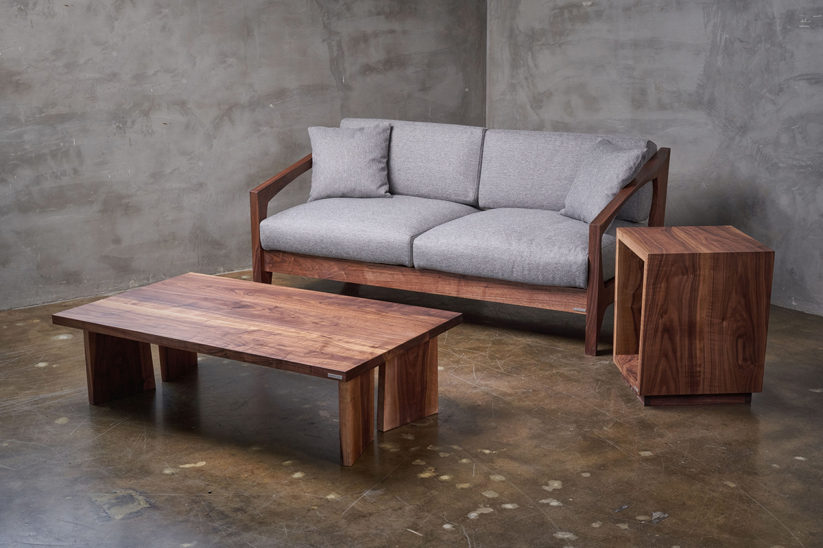WOODEN SOFA+more