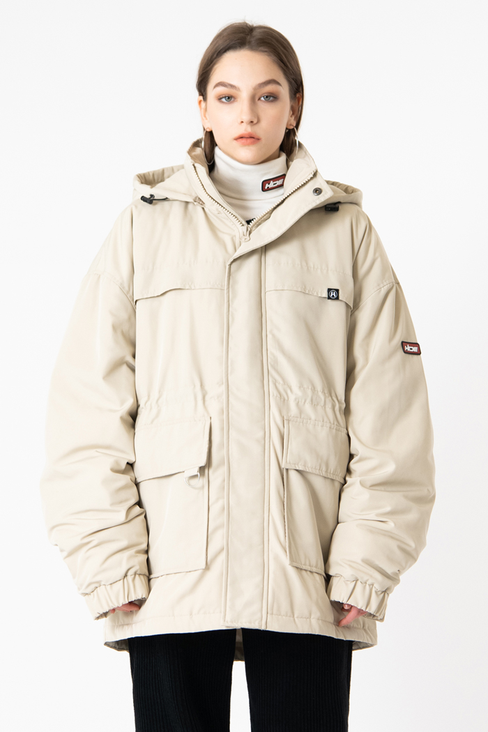 HIDE Future Parka <br>BEIGE