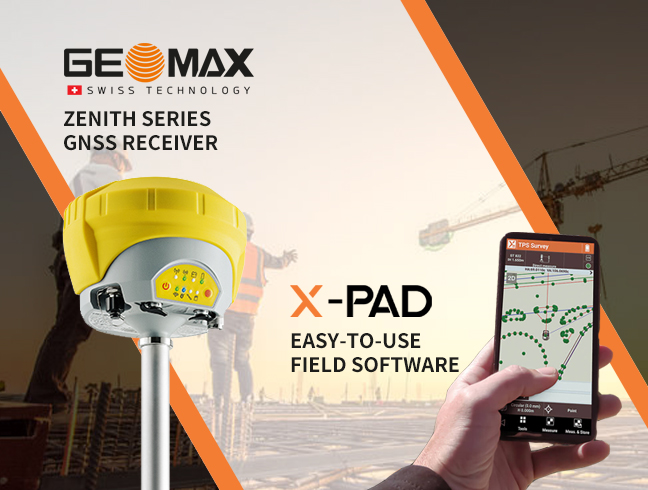 GEOMAX GNSS RECEIVER