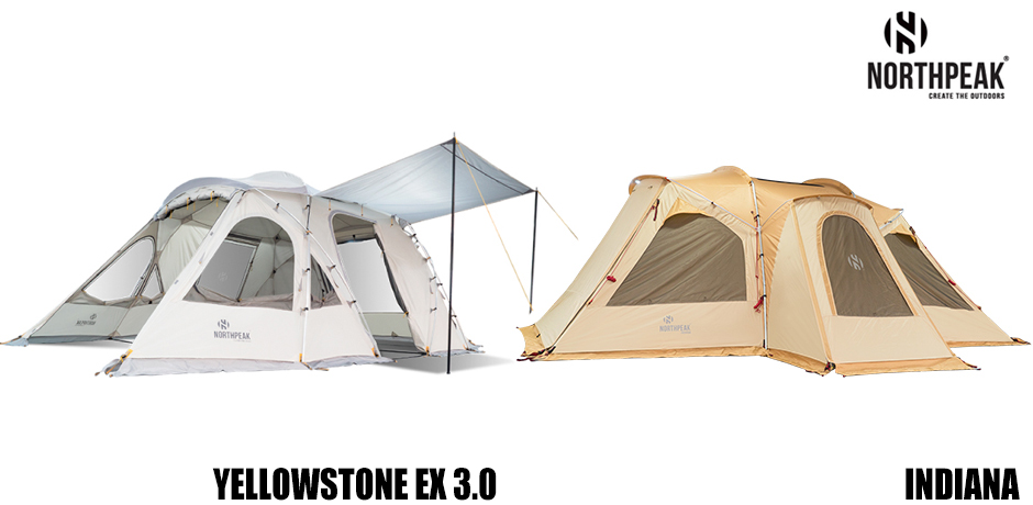 NORTHPEAK - YELLOW STONE EX 3.0 / INDIANA TENT